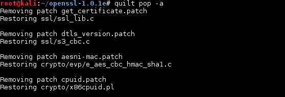 Open Security Research: Fixing SSLv2 Support in Kali Linux