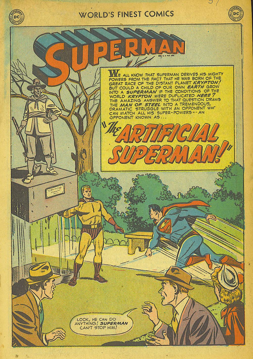 Read online World's Finest Comics comic -  Issue #57 - 3