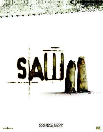 Poster Of Saw II 2005 English 120MB BRRip HEVC Mobile ESubs Watch Online Free Download Worldfree4u