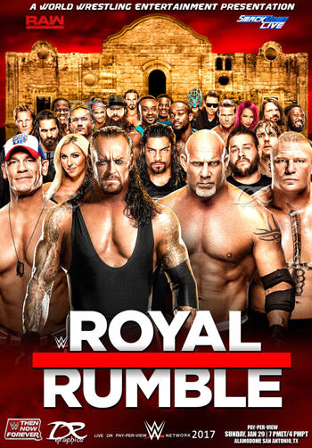 WWE Royal Rumble 2018 PPV English