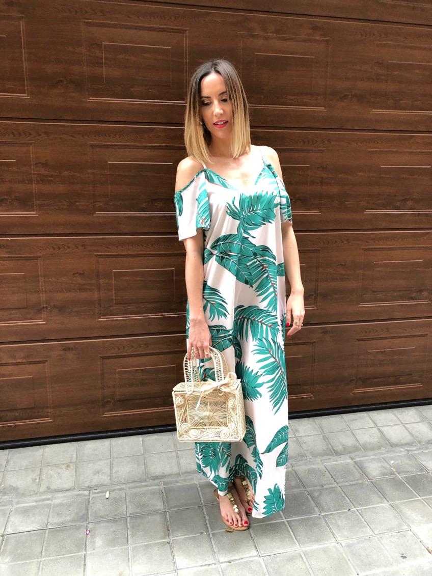 Fitness And Chicness-Leaf Print Dresses La Familia-7