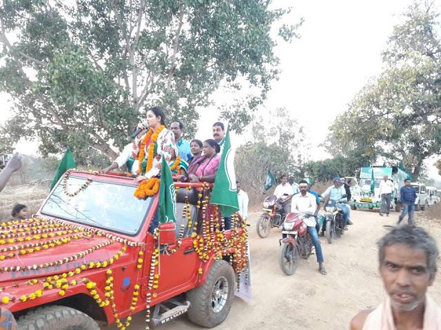 5 Panchayat Election Campaign by Anant Nr. Jena, Mayor, Bhubaneswar at Keonjhar