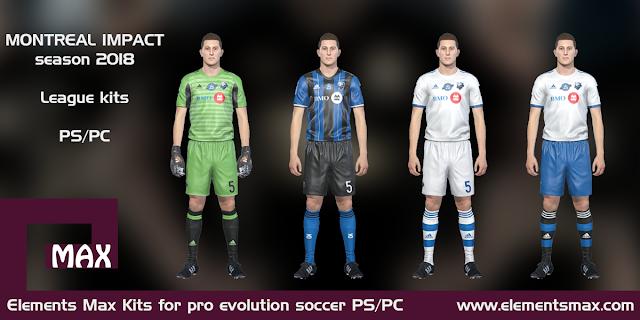 Montreal Impact PES kits