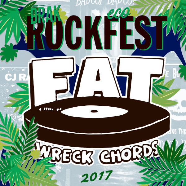 "Fat Wreck Chords announce new compilation ""Brakrock Ecofest"""