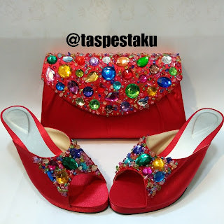 Made By Order Tas Pesta Cantik Sandal Pesta