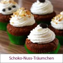 Schoko-Nuss-Cupcakes