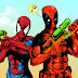 Homem aranha e Deadpool  fazem Zoação sobre o  filme Batman vs  Superman .