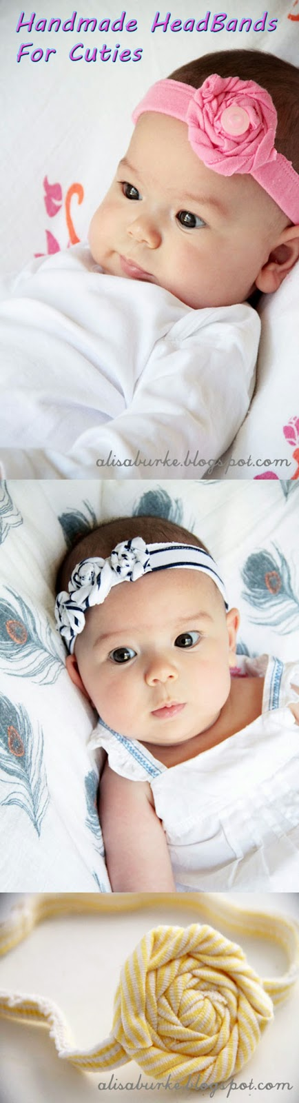 Cutest Handmade Baby HeadBands