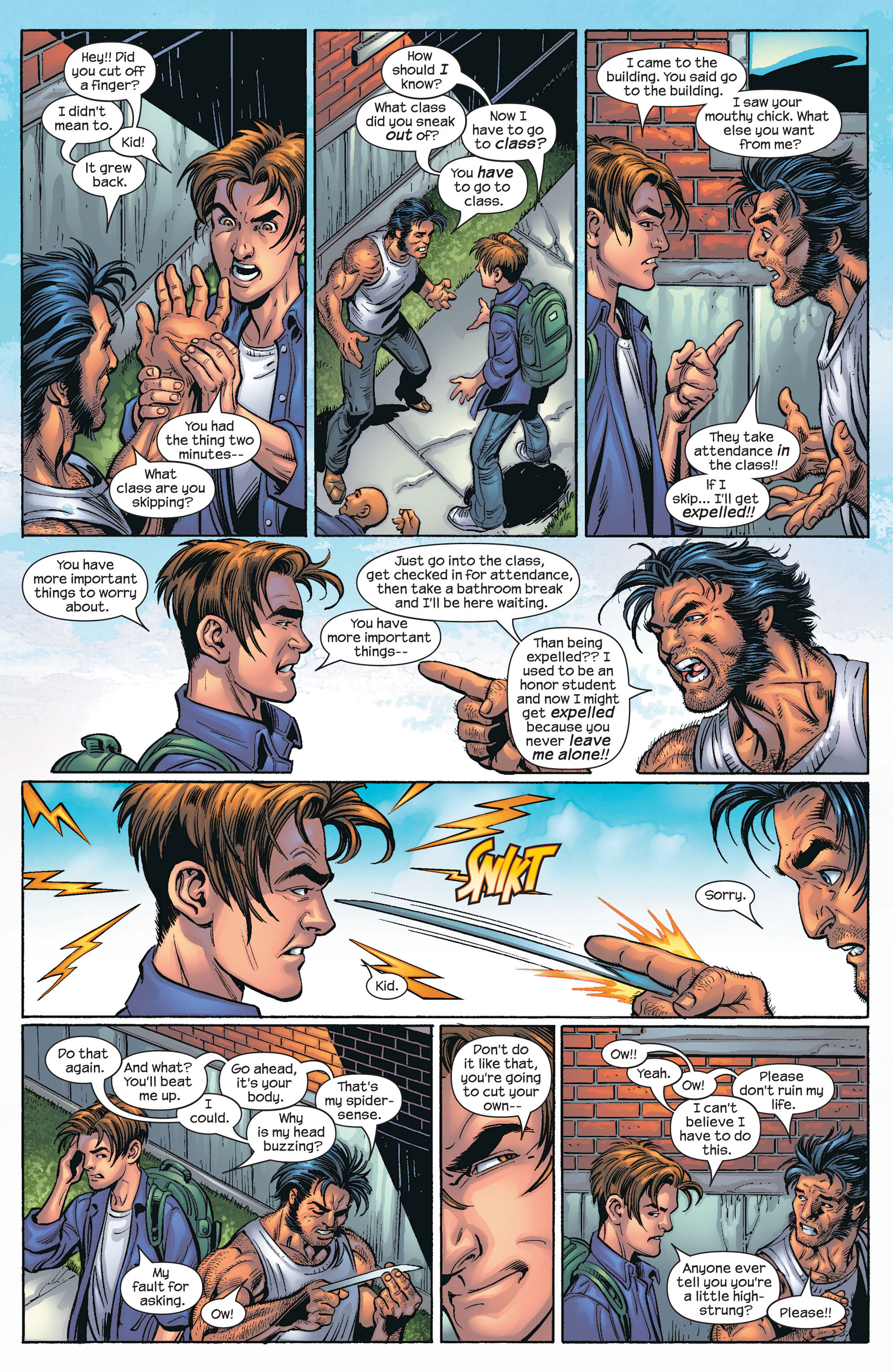 Read online Ultimate Spider-Man (2000) comic -  Issue #66 - 16