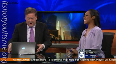 ItsNotYouItsMe Mention with Tichina Arnold on KTLA!