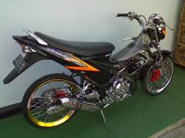 modifikasi satria fu road race