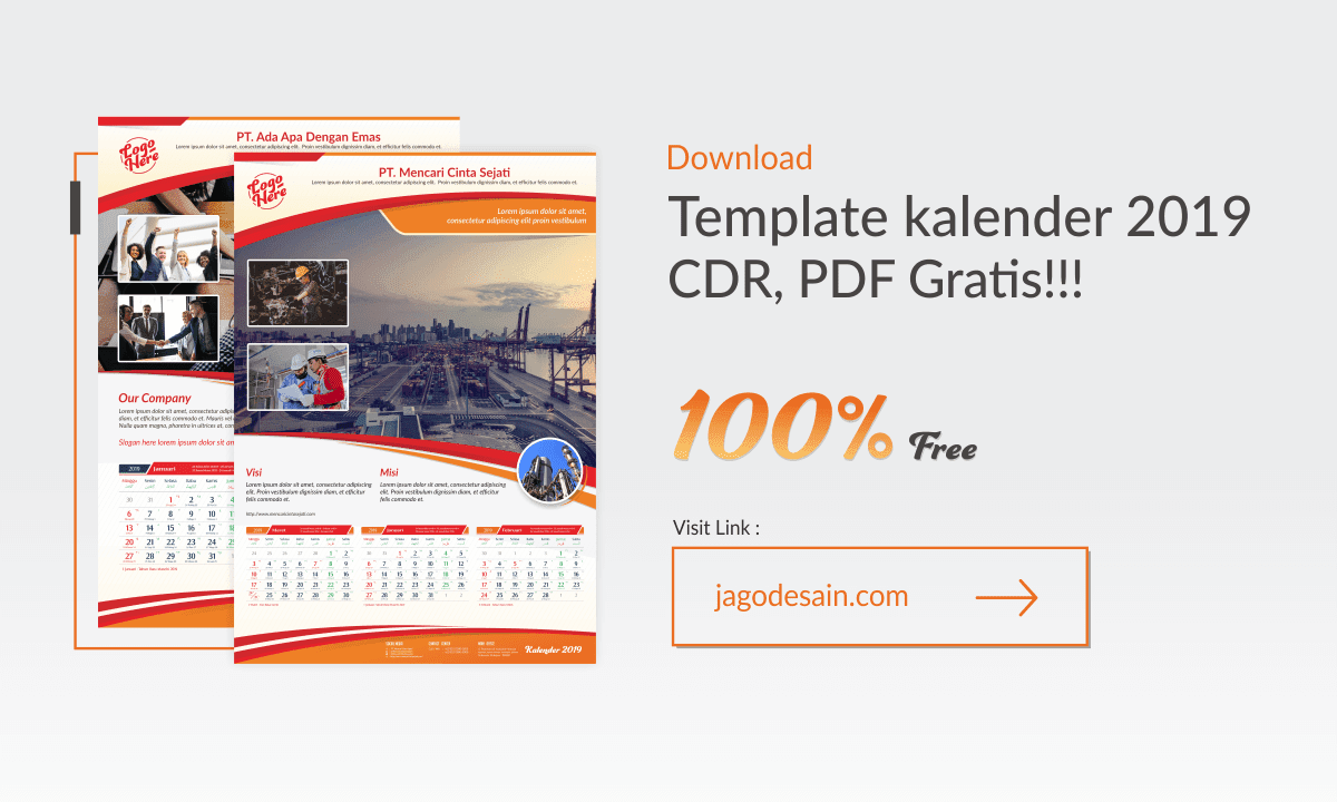Download Template Kalender Jawa 2019 Cdr