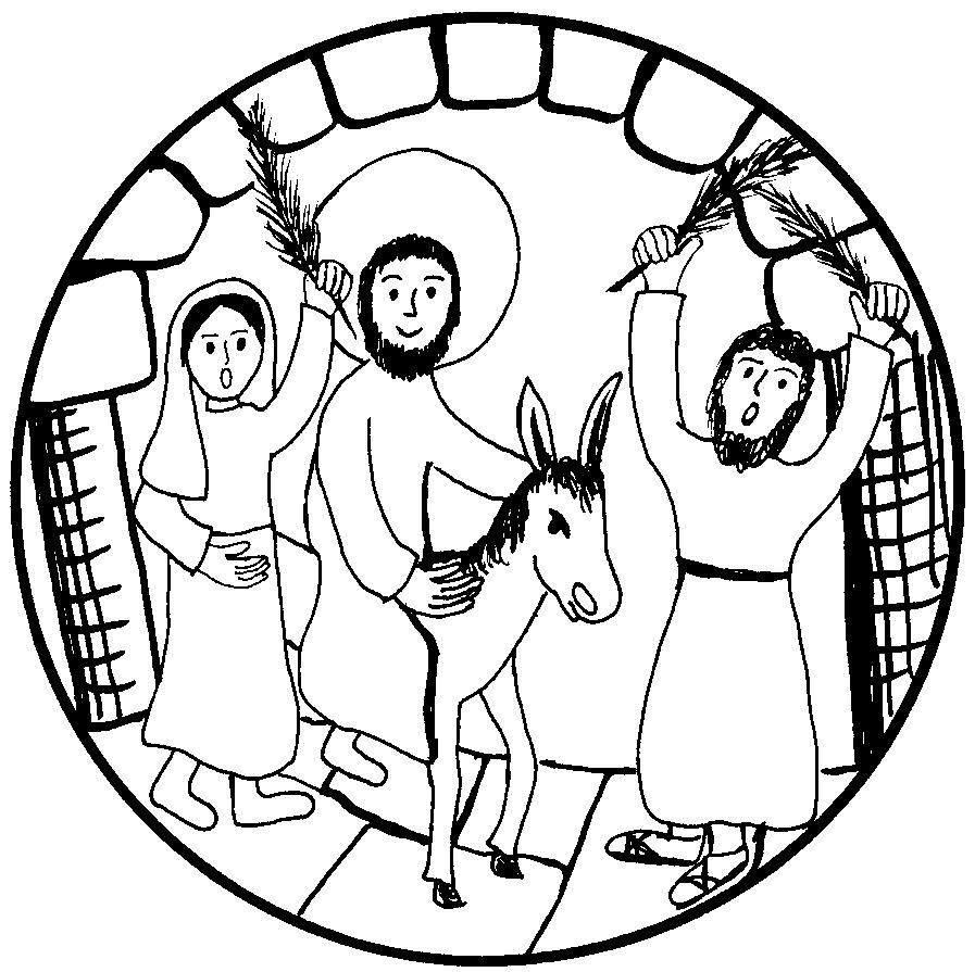 Jerusalem religionsunterricht jesus einzug in Jesus überwindet
