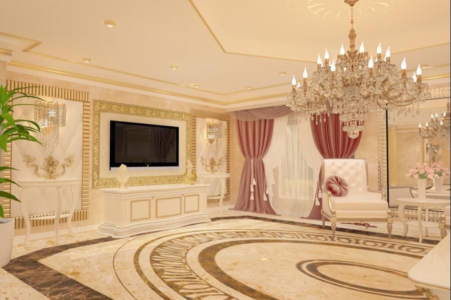 Design interior living clasic - Bucuresti | Portofoliu lucrari design interior - case - vile - la cheie | Design interior - pret - casa - moderna - clasica - Bucuresti - Constanta - Brasov - Pitesti - Ploiesti - Cluj - Galati