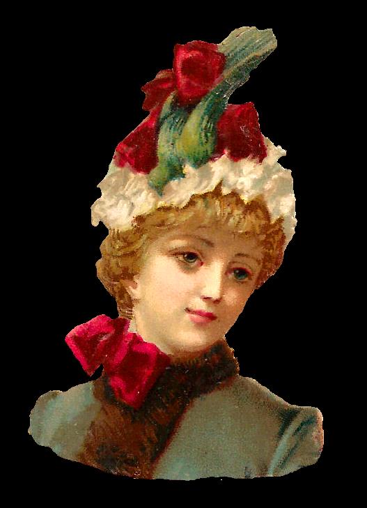 Christmas Blue Hat Art Clip