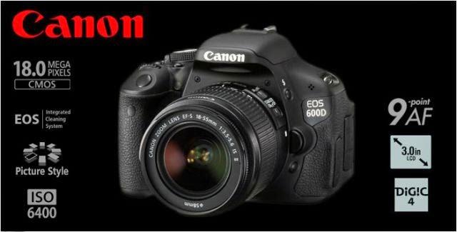 Fitur Keunggulan Canon EOS 600D