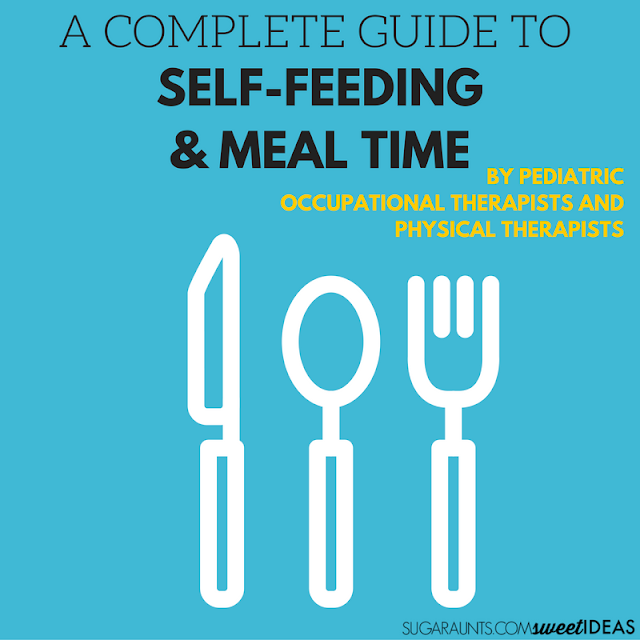 Help kids with this guide to self-feeding and mealtimes