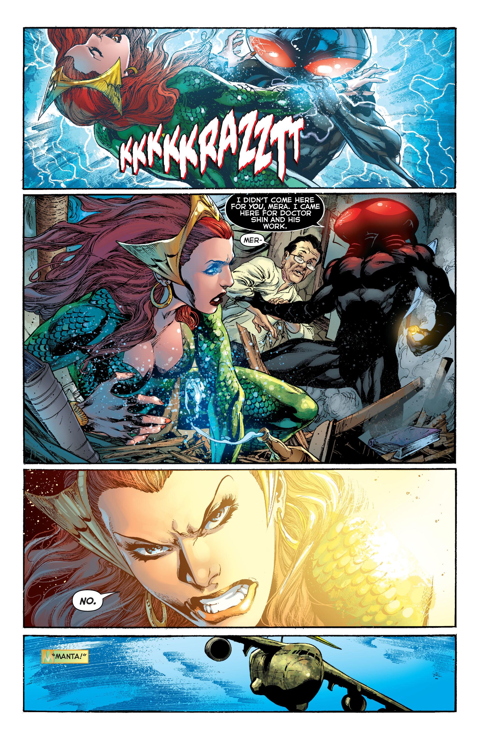 Read online Aquaman (2011) comic -  Issue #11 - 7