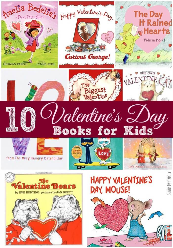 10 Valentine's Day Books for Kids! Celebrate your little sweetheart with these funny and heartwarming Valentine's Day books for toddlers and preschoolers.