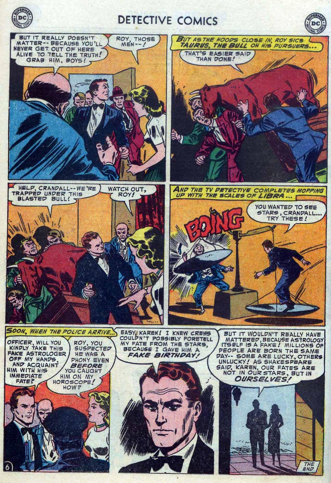 Read online Detective Comics (1937) comic -  Issue #204 - 22