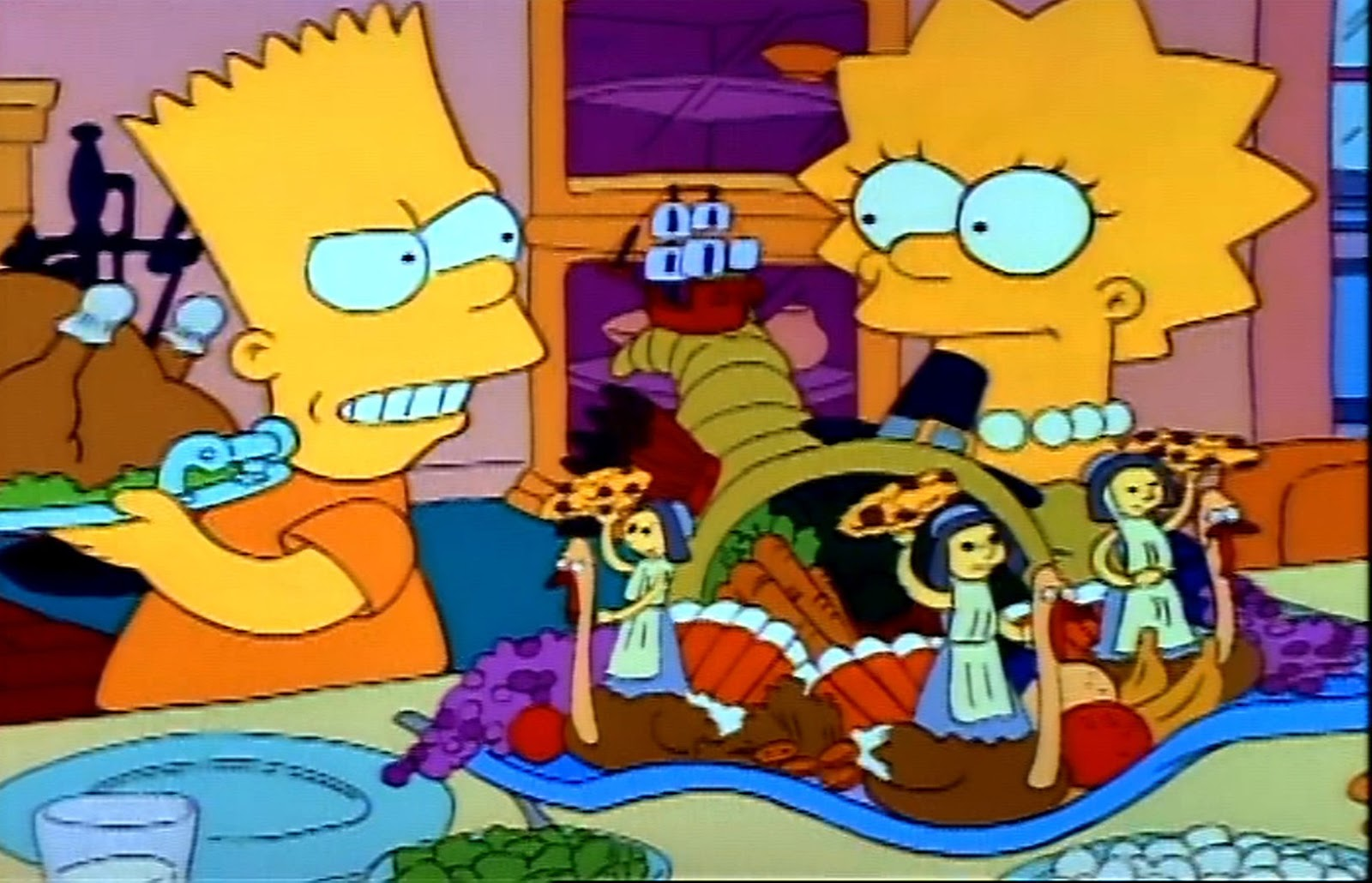 """Holiday Film Reviews: The Simpsons: """"Bart Vs. Thanksgiving"""""""