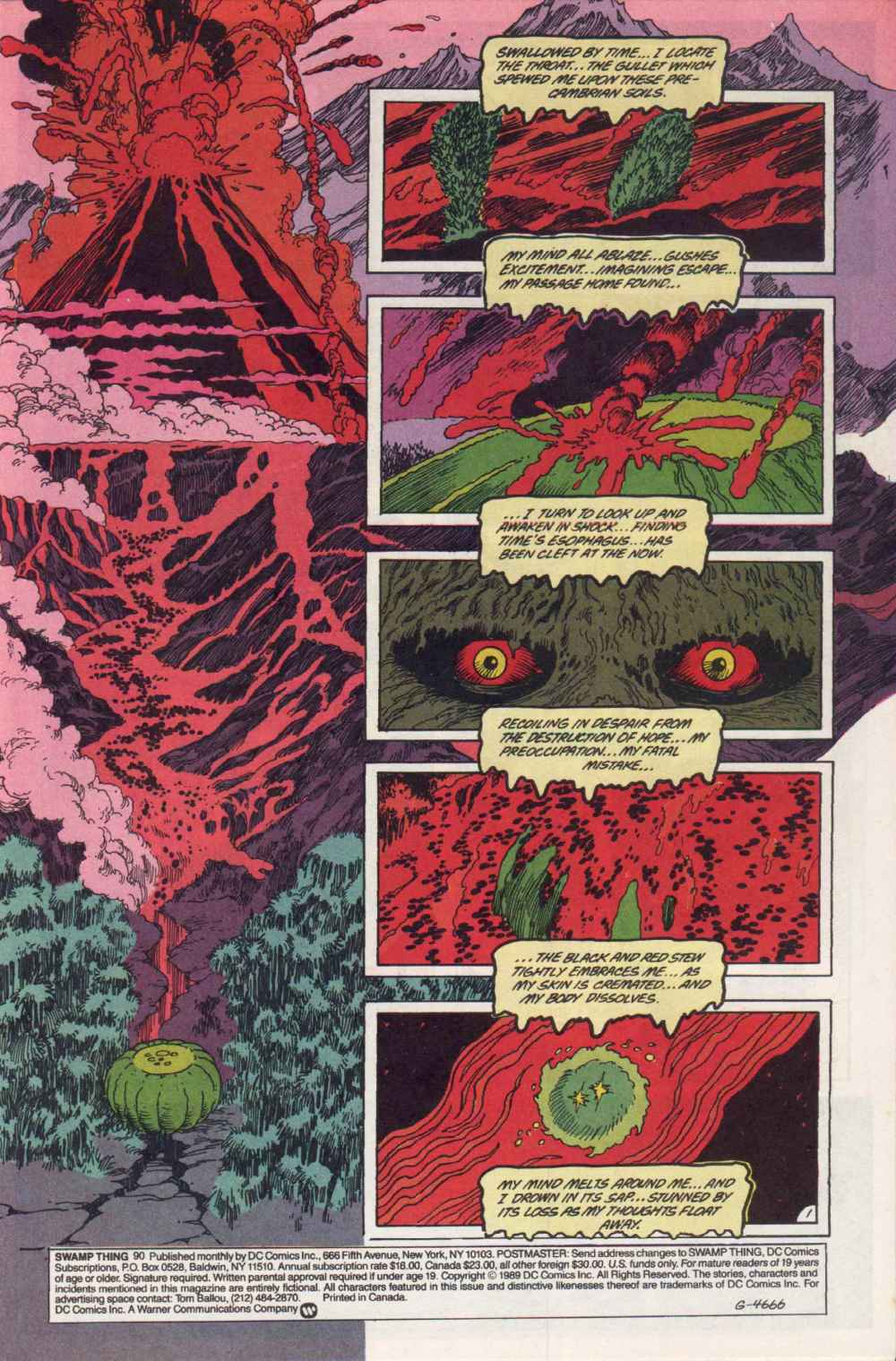 Swamp Thing (1982) Issue #90 #98 - English 2