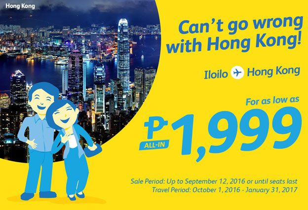Cebu Pacific Hong Kong Promo