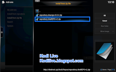 How To Install DNA TV Addon For Kodi