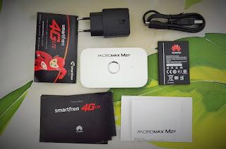 Unboxing modem MiFi M2P