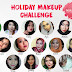 [FOTD] Holiday MakeUp Challenge with Beautiesquad