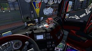 DAF Euro 6 Romanian interior mod