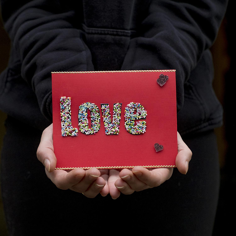 Een zoete Valentijns kaart maken - Feestdagen