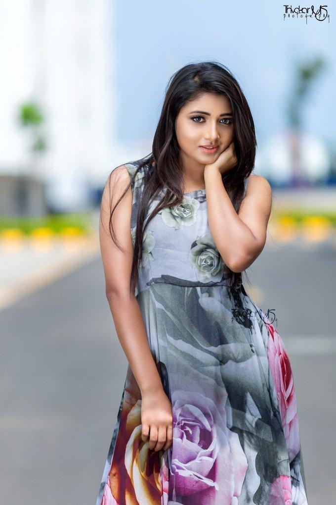 Actress Aditi Menon New Photo Shoot Images
