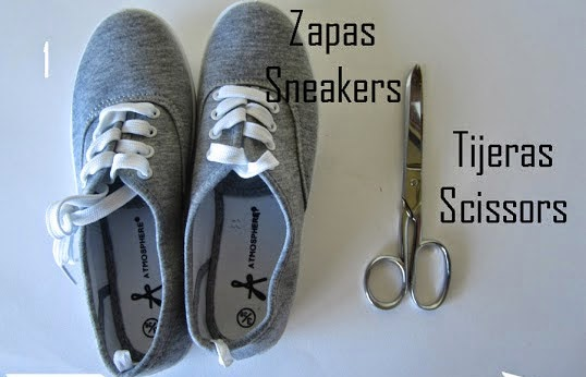 La Reines Blog Schuhe Fur Den Sommer Sandalen Sneaker Selber Machen