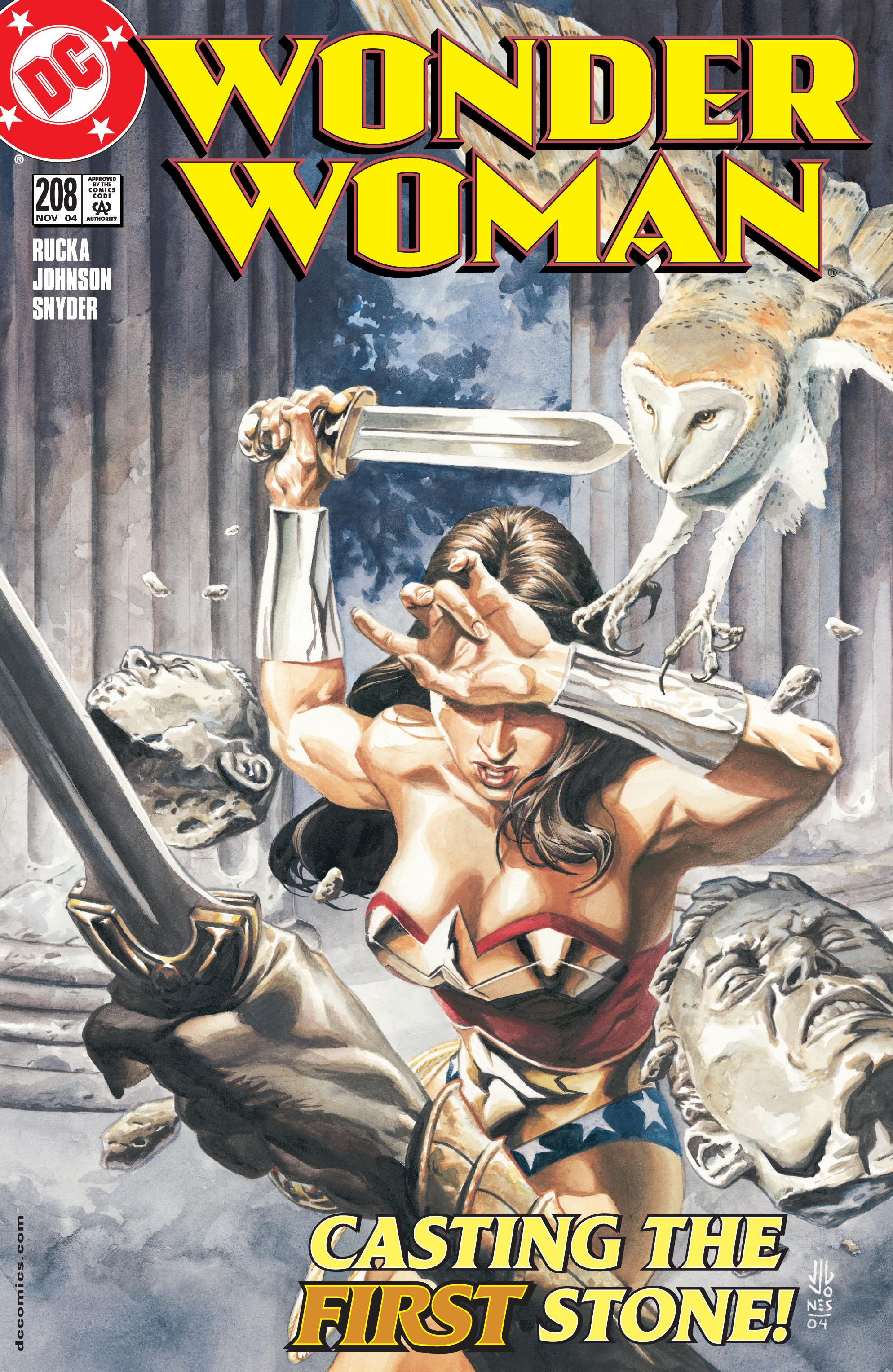 Read online Wonder Woman (1987) comic -  Issue #208 - 1