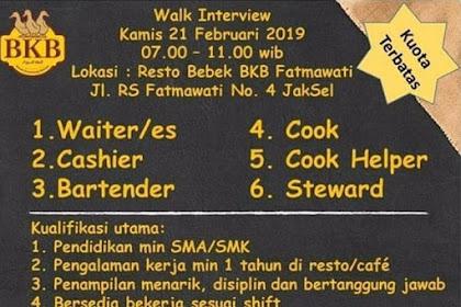 Info Lowongan Kerja Resto Bebek BKP Jakarta Selatan