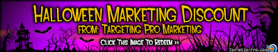 Halloween Marketing Discounts Deals and Specials - Targeting Pro