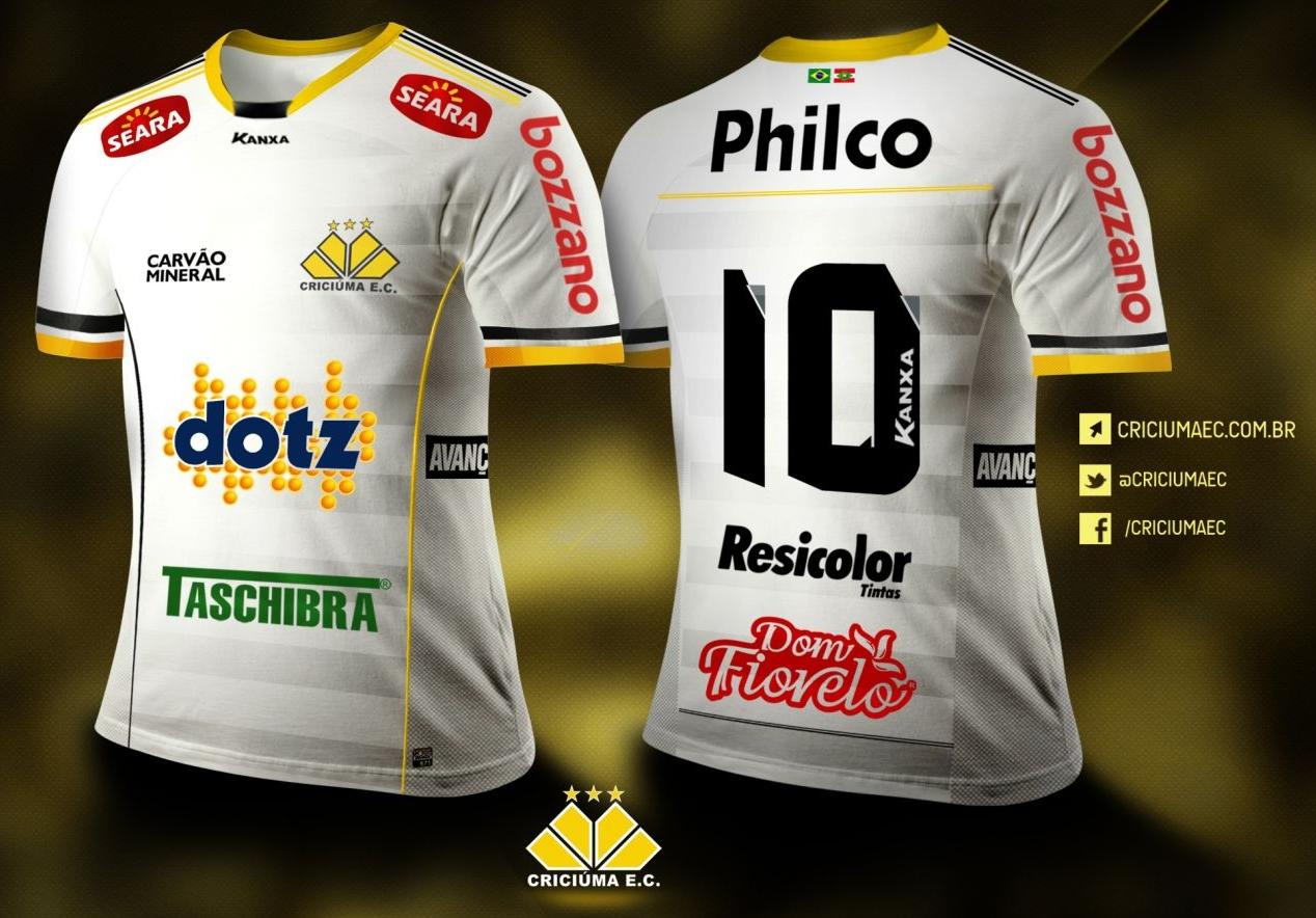 0d708495f7 Kanxa lança as novas camisas do Criciúma - Show de Camisas