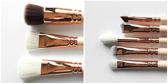 Zoeva Brushes, Zoeva Rose Golden Luxury Set V2, Beautiful Makeup Brushes, Best Makeup Brushes, High Quality Makeup Brushes