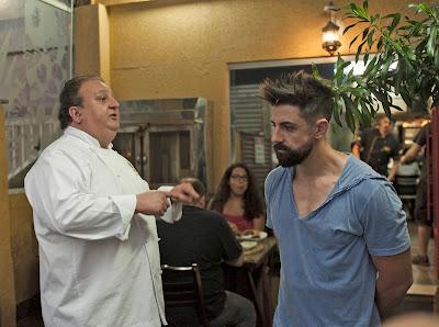 Chef Jacquin orienta Arthur, proprietário do restaurante Najjah - Divulgação/Band