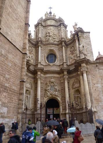 Catedral de Valencia, puerta de los Hierros.