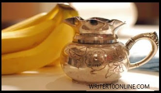 banana peel for  silver and accessories