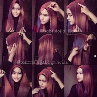 Tutorial Style Hijab Pashmina Simple Modern Elegan Terbaru
