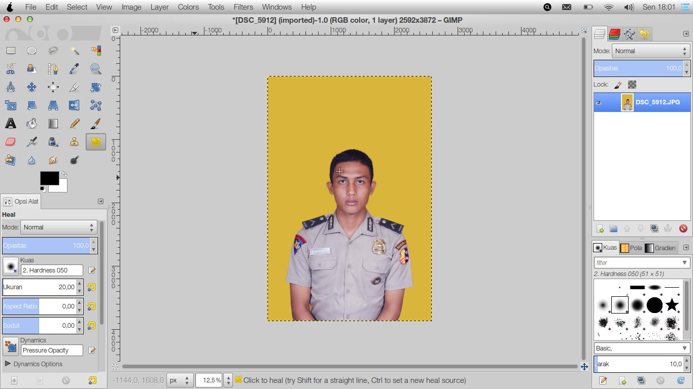 Cara Membuat Foto Ukuran 3x4 4x6 Di Gimp Kang Aflah