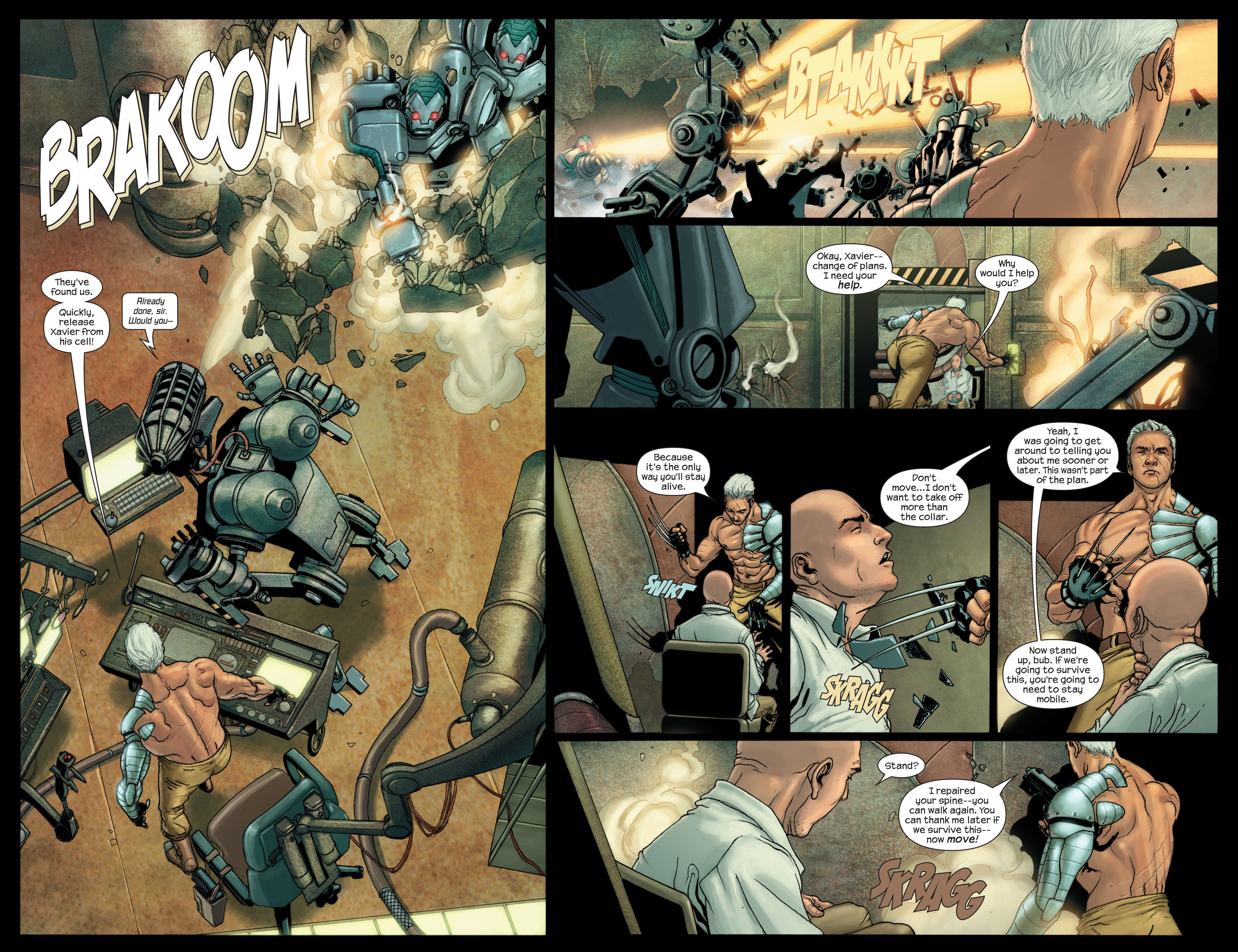 Read online Ultimate X-Men comic -  Issue #88 - 3