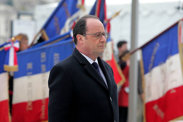 """Hollande: la """"menace"""" d'une victoire de Marine Le Pen """"existe"""""""