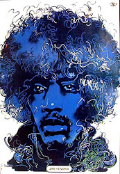 Jimi Hendricks Poster from Poland