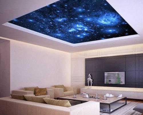 Galaxy ceiling sticker - XX Chromosomes