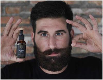 Minyak Penumbuh Jenggot (Brewok) dan Kumis - Ombak Beard Oil