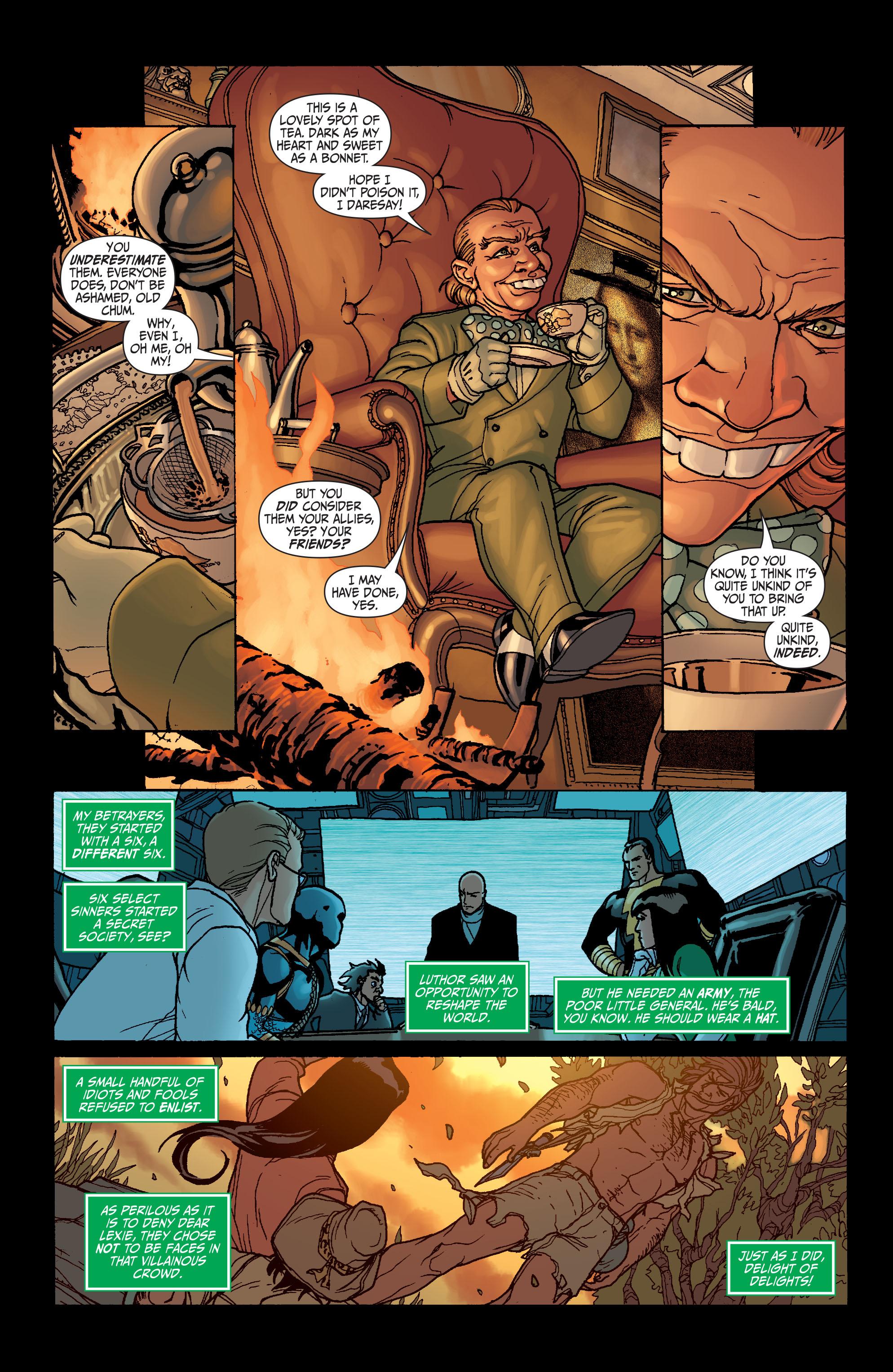 Read online Secret Six (2008) comic -  Issue #6 - 21